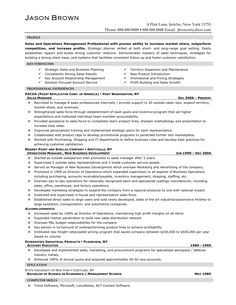 CvResume  Sales Manager  CVS Resume Jobs Etc