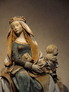 Nostre Dame de Grasse, Toulouse (spelled thus there), century, Late Gothic… Catholic Art, Religious Art, Art Sculpture, Sculptures, Madonna And Child, Medieval Art, Blessed Mother, Gothic Art, Sacred Art