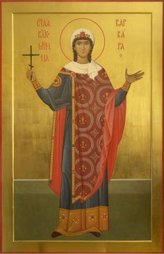 St Barbara of Heliopol / Αγία Βαρβάρα / Saint Barbara Holly Pictures, Saint Barbara, Roman Church, Paint Icon, Byzantine Art, Mary Magdalene, Orthodox Icons, Renaissance Art, Religious Art