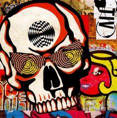 Psycho Skull by PantherModern23