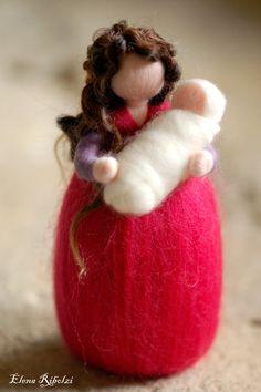 Mamy, in lana fiaba, ispirazione Waldorf