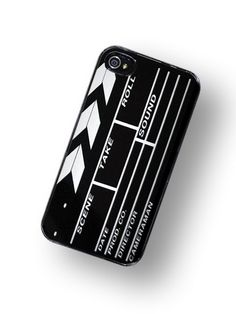 iPhone Case Hollywood Directors Movie Clap Board iPhone Hard Case / Fits Iphone 4, 4S