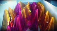 Yema Wrapped in Cellophane Paper