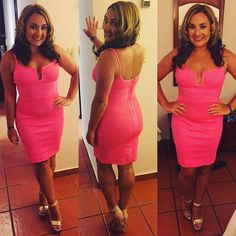 Beautiful Pink dress by @mizzbld   #pink #pinkdress #obsessedwithpink #pretty