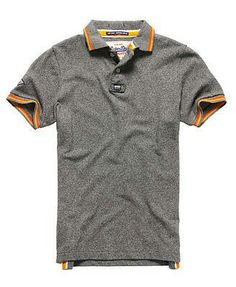 Shop Superdry Mens Surf Edition Pique Polo Shirt in Dark Marl Jaspe. Buy  now with free delivery from the Official Superdry Store. 8b228fc991b61