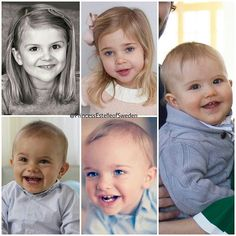 The five royal cousins And in September there will be sixth little one #PrincessEstelle #PrinsessanEstelle #PrinceOscar #PrinsOscar #PrincessLeonore #PrinsessanLeonore #PrinceNicolas #PrinsNicolas #PrinceAlexander #PrinsAlexander