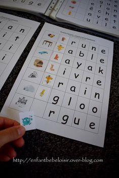 PDF Alphas à imprimer - Grande section /CP apprendre à lire - enfant bébé loisir