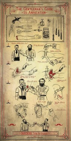 Old but a Good one... The Gentleman's How2 Guide Amputations- This is fabulous. @huffingtonpost