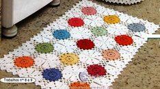 Crochet e artes: Tapetes