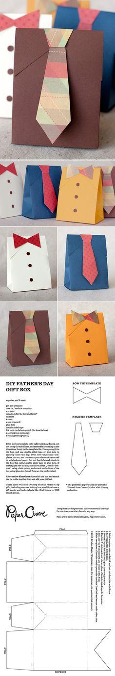 Día del padre. Bolsitas camisa y sus moldes
