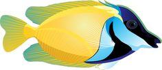 Amazing Clip Art Of Ocean Life: Tropical Fish #3