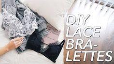 withwendy lace bralett - YouTube
