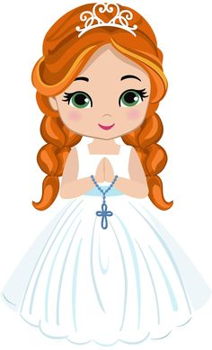 First Communion, Princesas Disney, Christening, Paper Dolls, Cake Toppers, Henna, Decoupage, Disney Characters, Fictional Characters