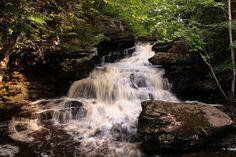 Go Waterfalls New Brunswick: Garden Creek Falls
