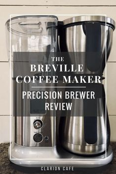 The Breville Precision Brewer thermal offers complete control over the brewing cycle and makes fantastic coffee with a hand crafted taste. Best Coffee Grinder, Best Coffee Maker, Coffee Brewer, Espresso Coffee, Drip Coffee Maker, Coffee Type, Coffee Pods, Coffee Beans, Wholesale Coffee