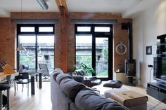 My Houzz: George & Jean: Almonte, ON - contemporary - family room - ottawa - Esther Hershcovich