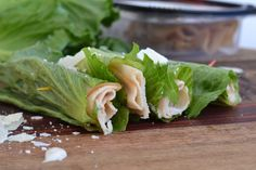 Romaine lettuce leav
