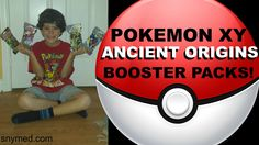 #VIDEO: My 7-year old opens #Pokemon XY Ancient Origins Booster Packs! (Ancient Traits)  WATCH: https://youtu.be/uuLeoNPOuFg