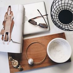 Gorgeous Flat Lay by the Rue Collective featuring the Poppy Necklace //