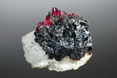 bing images of gems and minerals of sweden | Pyrargyrite - 7.4 cm - SOLD