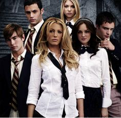 """the young cast of """"Gossip Girl"""" season 1......."""