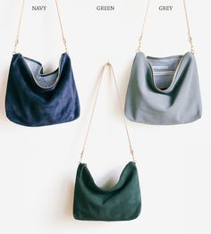 Suede Hobo Bag | Crafted in supple suede, this hobo bag fits all of the everyda... | Hobo Handbags