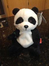 COCA COLA INTERNATIONAL PLUSH BEANIE ZONGSHI THE PANDA BEAR FROM CHINA