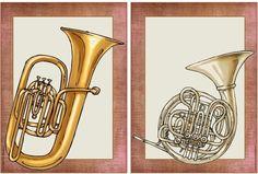 Ideenreise: Bildkarten zur Instrumentenkunde - Blasinstrumente