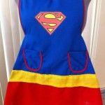 superman apron found on Etsy