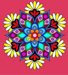 mandara coloring2
