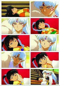 Sesshoumaru when Rin returns to life. My heart! #Inuyasha