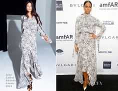 Kelly Rowland In Juan Carlos Obando – 2014 amfAR New York Gala