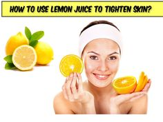 Is Lemon is good for your skin ?? Follow these simple steps to tighten your skin & get instant glow...