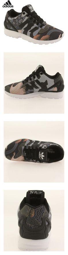 wholesale dealer 00eb4 b58f5 Adidas Zx Flux W Women s Casual Shoes Core Black White s75039 (7.5 B(M) US)