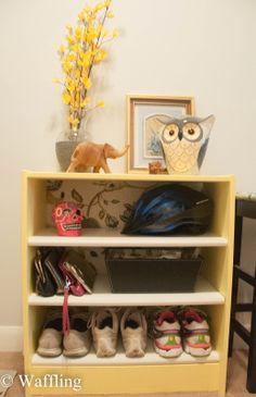 Rast Dresser to Bookshelf!