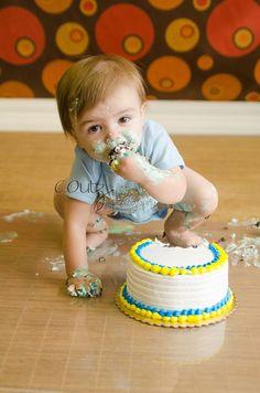 First Birthday Cake Smash.