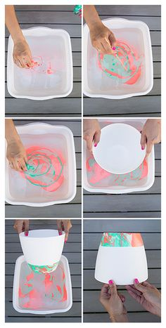 DIY Marbled Hanging Planter with Joy Cho