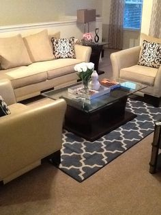 I Recently Purchased This Maples Fretwork Area Rug At Target. It Gives My  Apartment A