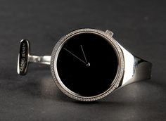 ** Vivianna Torun Bulow-Hube for Georg Jensen, Silver Watch.
