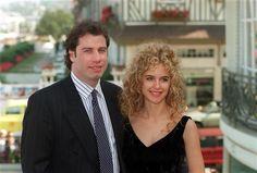Oscar couples who split up John Travolta Kelly Preston, Marriage And Family, Wonderwall, Ben Affleck, Academy Awards, Celebs, Celebrities, Celebrity Couples, Jennifer Lopez