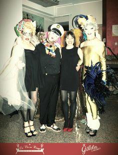 Gilda Cabaret  -Avanspettacolo trasformismo Per info spettacoli lavieenrougeeventi@gmail.com