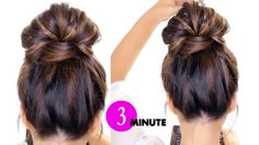 3-Minute BUBBLE Braid BUN  ★ Easy Holiday Hairstyles