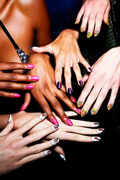 Nail art // #FashionWeek