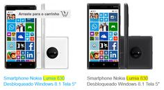 "Nokia Lumia 830 Windows 8.1 Tela 5"" 16GB Wi-Fi Câmera 10MP GPS << R$ 62910 >>"