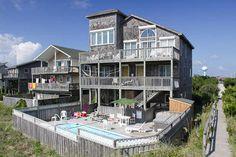 AVON Vacation Rentals | Seventh Heaven - Oceanfront Outer Banks Rental | 135 - Hatteras Rental