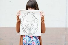 *Squeaky Swing: Outfit: Another season leaving us too soon featutiring a Luloveshandmade fox tote <3