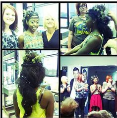 Earth Day Inspired Hair from one of our Paul Mitchell Schools! #earthday #PMTS #PaulMitchell