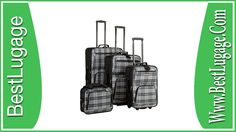 Rockland Luggage Four Piece Luggage Set Review Best Travel Luggage, Buy Luggage, Luggage Sets, Cabin Suitcase, Cabin Luggage, Metal Detector Reviews, Light Luggage, Briggs And Riley, Rockland Luggage