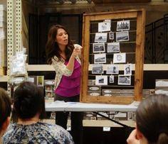 DIY Furniture : DIY Clothesline Frame from Book Tour