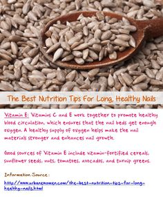 The Best Nutrition Tips For Long, Healthy Nails Nail Care Tips, Nail Tips, Fingernail Health, Fortified Cereals, Vitamins For Healthy Hair, Turnip Greens, Pie Hole, Nail Growth, Finger Nails